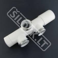 Srauto reguliavimo ventilis UNICO (baltas)