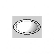 Lubinės ištraukiamos ventiliacinės grotelės be tvirtinimo žiedo, plastikinės