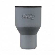 Vidaus kanalizacijos perėjimas špiž/plastm. pilkas
