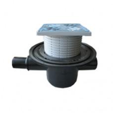 Pratekantis kanalizacijos trapas su atbuliniu vožtuvu (HL 300)