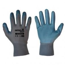 Pirštinės NITROX GRAY nitrilininės