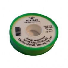 Santechninė juostelė LUXTAPE PROFESONAL (pakuotė žalia)