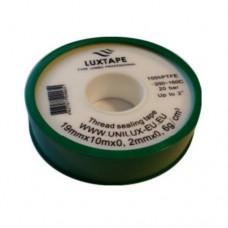 Santechninė juostelė LUXTAPE PROFESONAL (pakuotė t. žalia)
